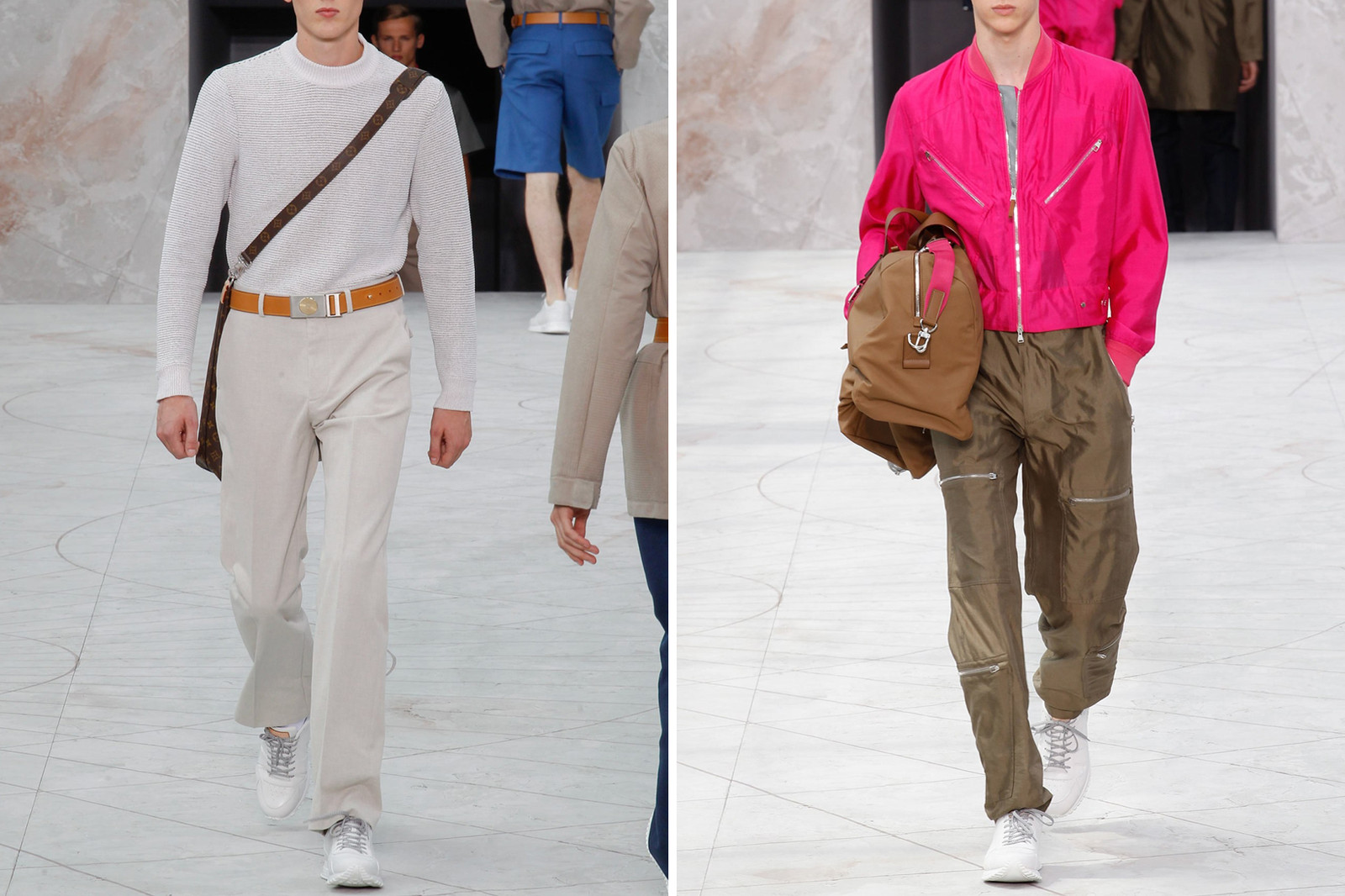 Kim Jones Louis Vuitton Supreme hiroshi fujiwara kapital Streetwear style high fashion runway collaboration