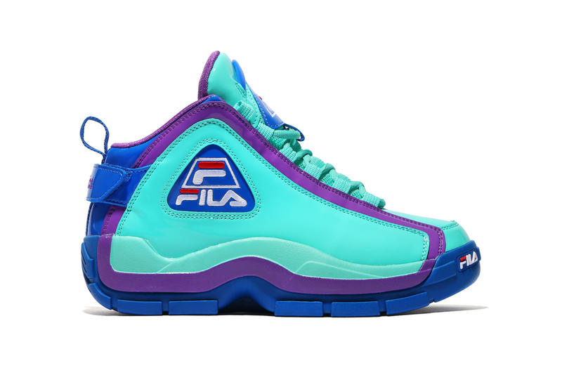 Kinetics FILA 96 GL Patent Leather Green Emerald 2018 January Release Date Info Collaboration Sneakers Shoes Footwear collaboration