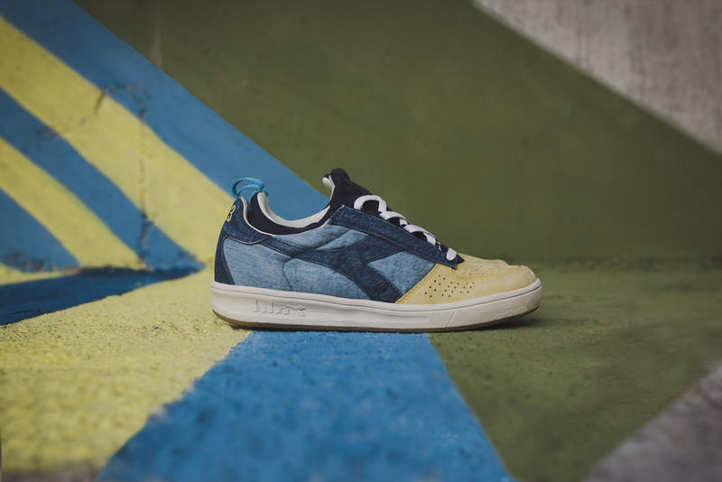 LC23 Diadora N9000 Collaboration 2018 January Release Date Info Sneakers Shoes Footwear Denim Sweater
