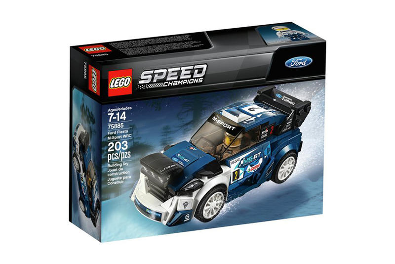 Lego 2018 Speed Champions Collection Set Porsche Ford ferrari Fiesta M-Sport 488 GT3 Mustang Fastback Corsa
