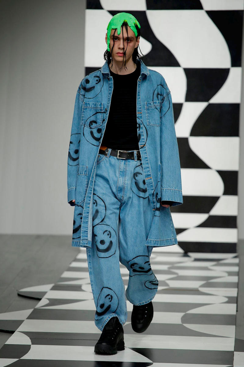 Liam Hodges 2018 Fall Winter Collection Runway FILA london fashion week london fashion week mens lfwm