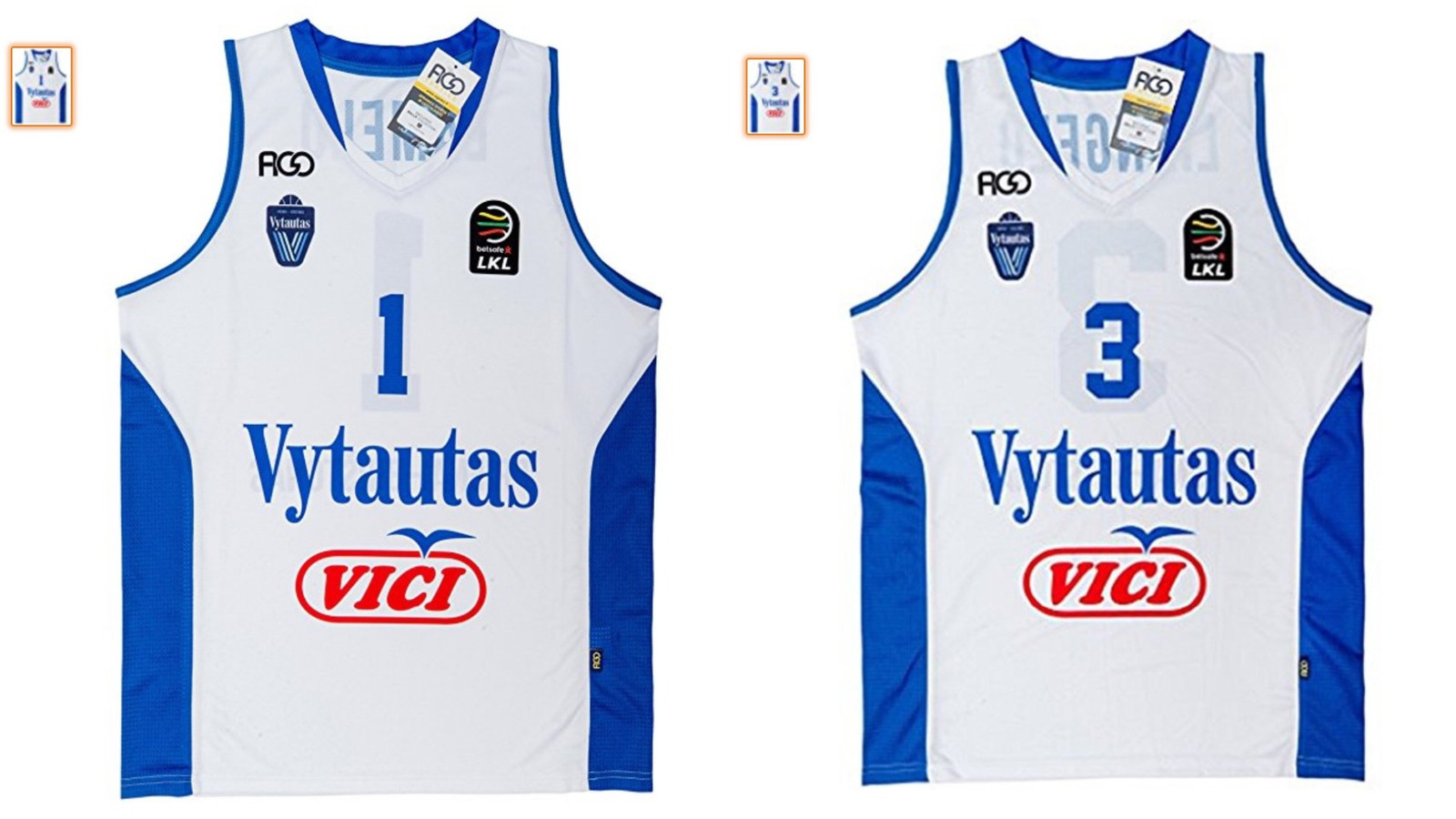 buy online 244c3 848e8 LiAngelo & LaMelo Ball's Lithuanian Jerseys Available Now ...