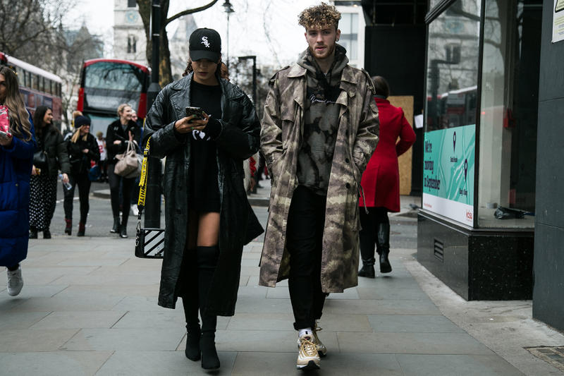 London Fashion Week Men S 2018 Street Style Hypebeast