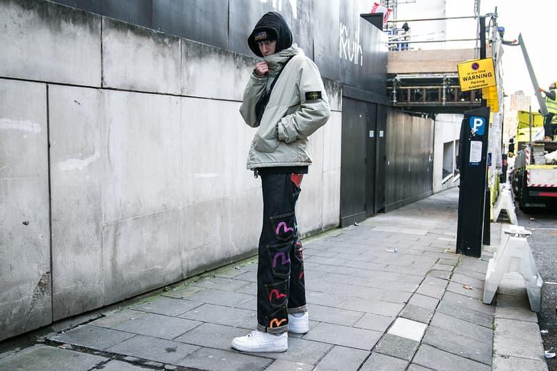 London Fashion Week Men's Fall/Winter 2018 Street Style Streetsnaps Balenciaga Nike Virgil Abloh Off-White Triple-S A-COLD-WALL*