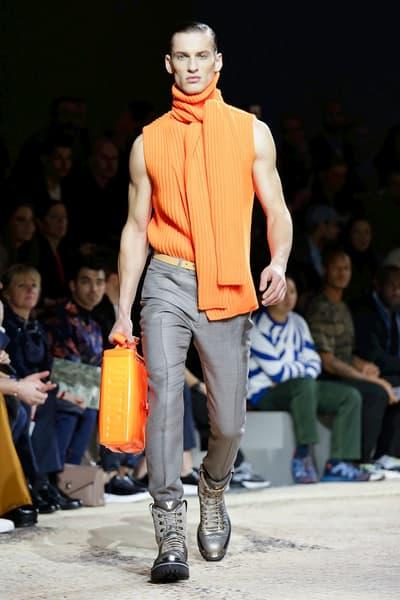 Louis Vuitton 2018 Fall Winter Collection Paris Fashion Week Mens PFW PFWM Kim Jones Kate Moss Naomi Campbell LV Marc Jacobs