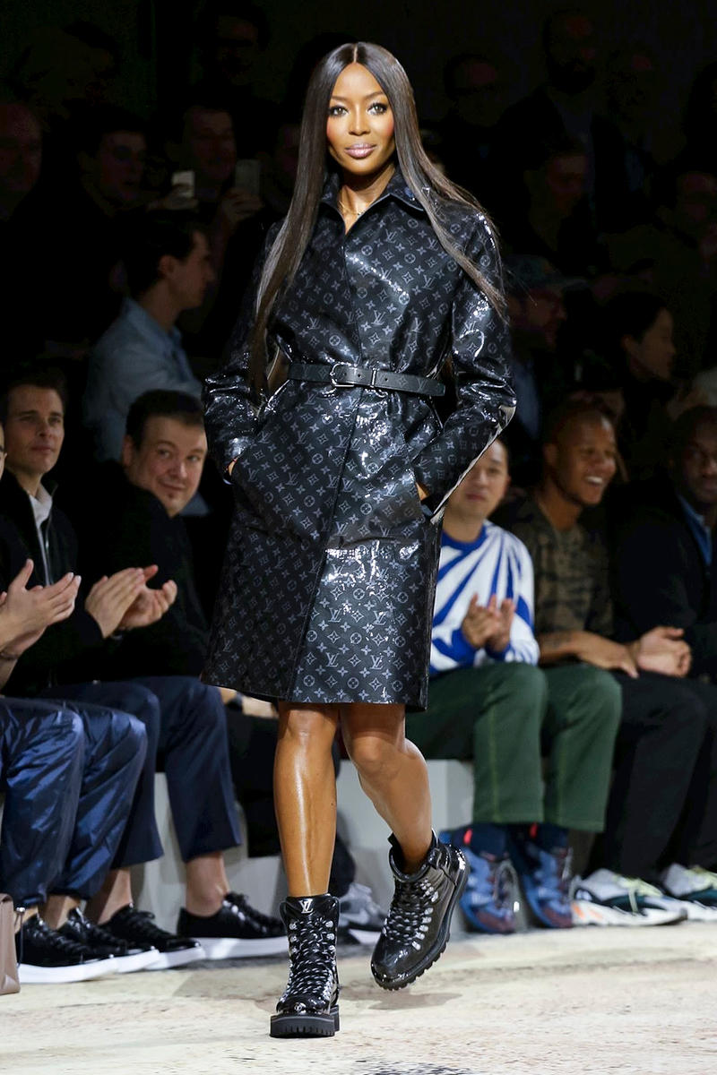 Louis Vuitton 2018 Fall Winter Collection Paris Fashion Week Mens PFW PFWM Kim Jones Kate Moss Naomi Campbell LV Marc Jacobs