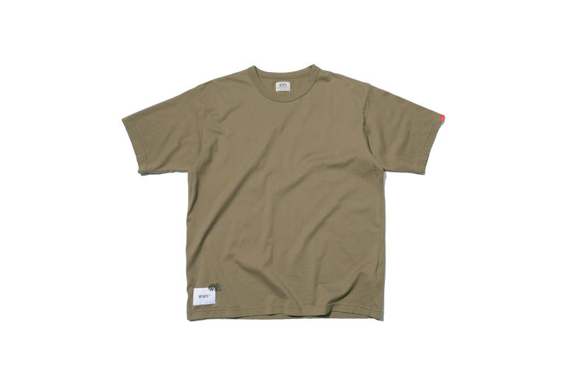 MADNESS WTAPS Fashion Apparel Outerwear Streetwear Clothing Military Park Olive Green Tee Tshirt Release Info Drops Date January 13