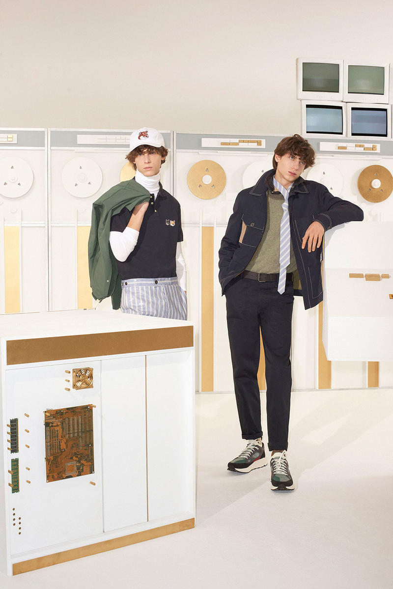 Maison Kitsune 2018 Fall Winter Collection Lookbook