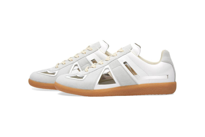 Maison Margiela Cut Out Replica Sneaker White Amber 2018 January Release Date Info Sneakers Shoes Footwear END Clothing John Galliano Martin