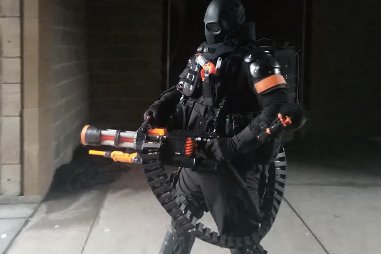 da815ae3f7a Man Makes Nerf Minigun Capable of Shooting 20 Rounds Second