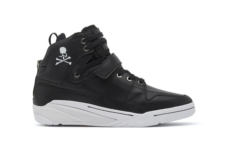 mastermind JAPAN SearchNDesign Ghost Sox WORLD 2018 February 1 Release Date Info Sneakers Shoes Footwear Red Black White Italian Leather Logo Branding