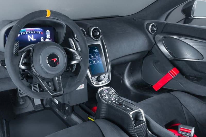 McLaren MSO X Street-Legal 570S GT4 McLaren Special Operations