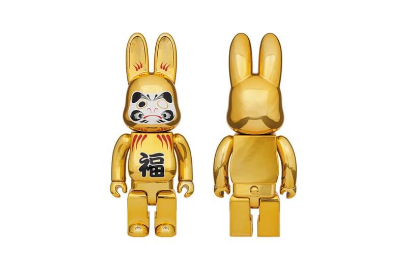 Medicom Toy Chinese New Year Gold R@BBRICK