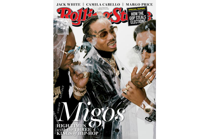 Migos Cover Rolling Stone Magazine Album Leak Single Music Video EP Mixtape Download Stream Discography 2018 Live Show Performance Tour Dates Album Review Tracklist Remix