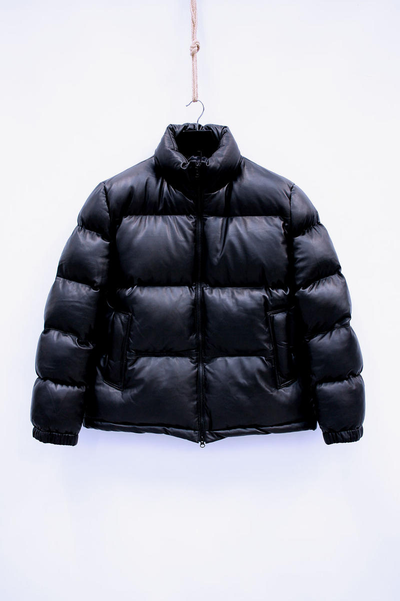 MKI Leather Bubble Jackets Outerwear London Leeds Apparel Fashion Clothing