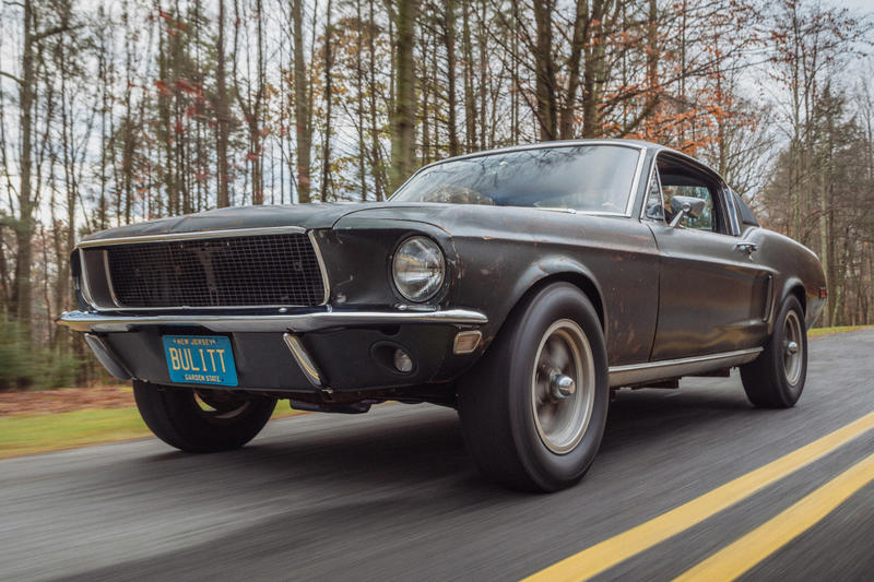 Ford Mustang Bullitt Molly McQueen Steve McQueen