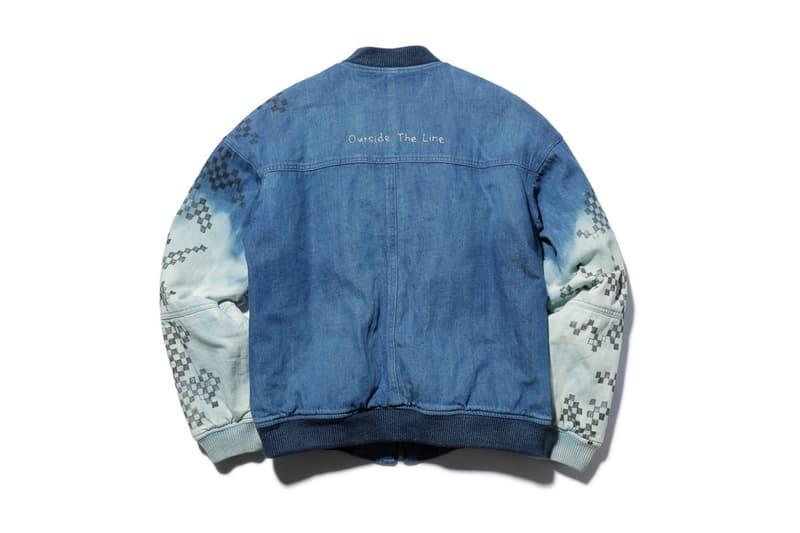 MR OLIVE muu Denim Varsity Jacket 2018 Spring Summer January 29 Release Date Info Collaboration Walk In Closet Daikanyama Japan