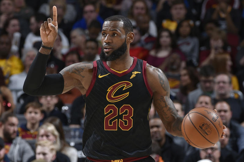 b6295510927c NBA 2018 All Star Starters LeBron James Kyrie Irving Giannis Antetokounmpo  DeMar DeRozan Joel Embiid Kevin