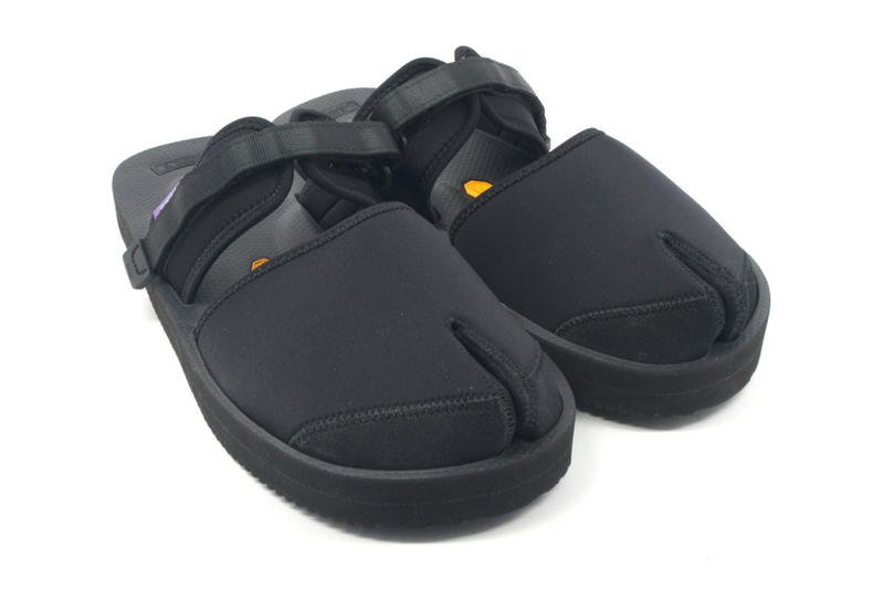 NEPENTHES SUICOKE Purple Label Sandal Split Toe Sandal Footwear Collaboration