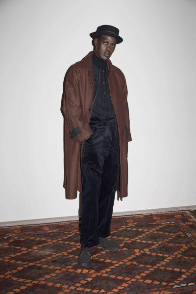 Nicholas Daley 2018 Fall Winter Collection red clay london fashion week mens lfwm