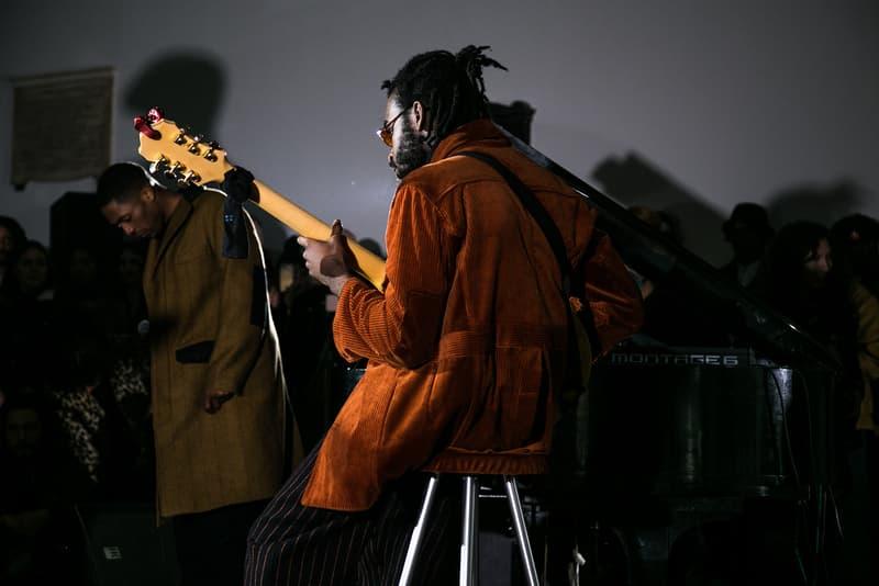 Nicholas Daley Fall/Winter 2018 London Fashion Week: Mens Backstage