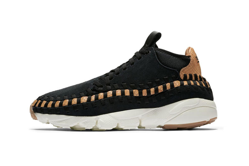 Nike Air Footscape Chukka Woven Black Dark Russet colorway sneaker shoe winter 2018