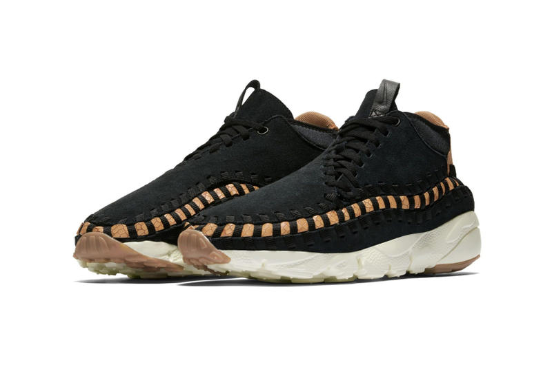Nike Air Footscape Chukka Woven Black Dark Russet colorway sneaker shoe winter 2018