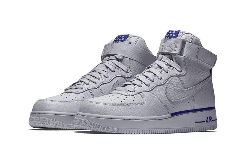 Nike Air Force 1 High Stars White Blue