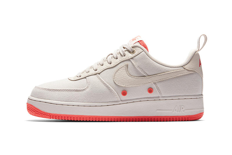 Nike Air Force 1 Low Canvas Desert Sand Release