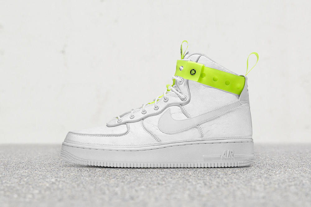 "MAGIC STICK x Nike Air Force 1 Hi ""VIP"" Release Information Naotaka Konno Poggy UNITED ARROWS & SONS Paris Fashion Week Tyvek"