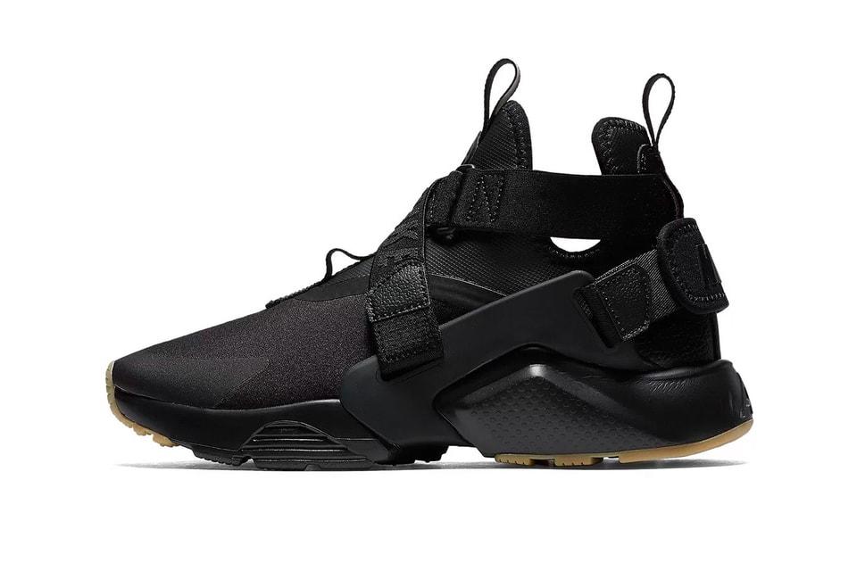 "Nike's Air Huarache City Debuts in ""Black/Gum"""