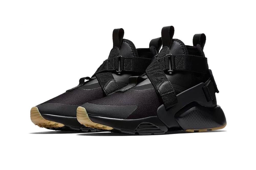 """Nike Air Huarache City """"Black/Gum"""" Preview Release Info"""