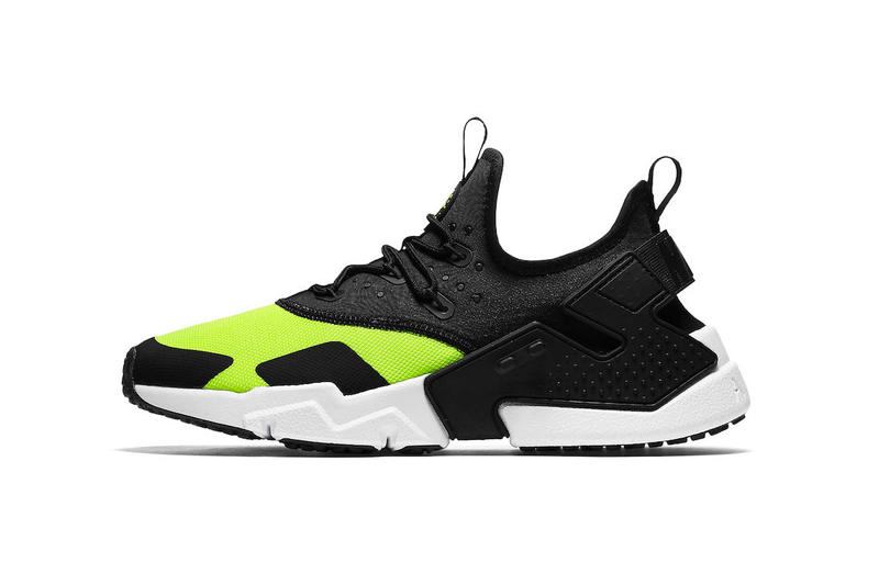 low priced cc4c5 57e9b Nike Air Huarache Drift in Black and Volt | HYPEBEAST