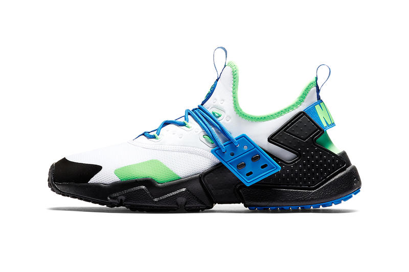 Nike Air Huarache Drift Scream Green Footwear Shoes Sneakers 926a96ad74