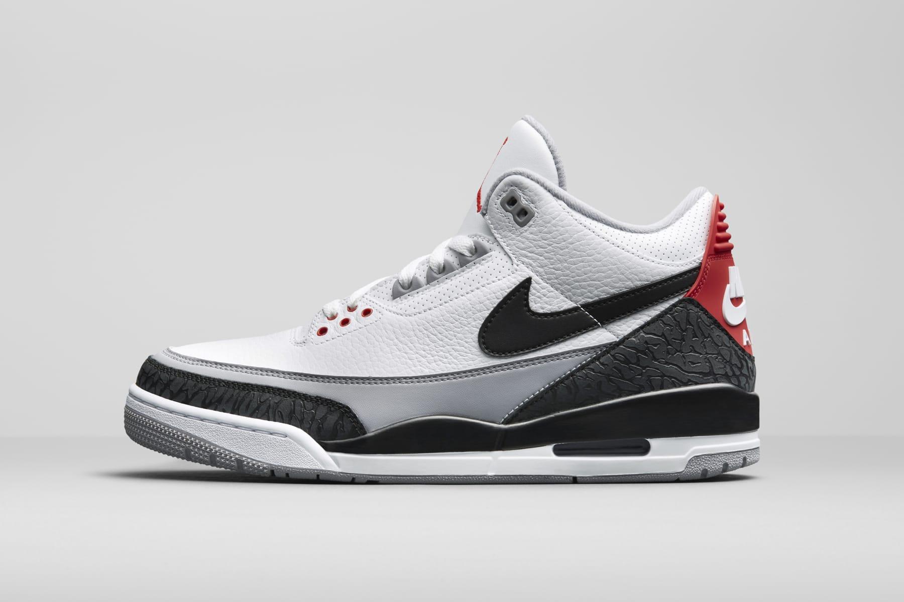 3e9cd025de0 Nike Air Jordan 3 White