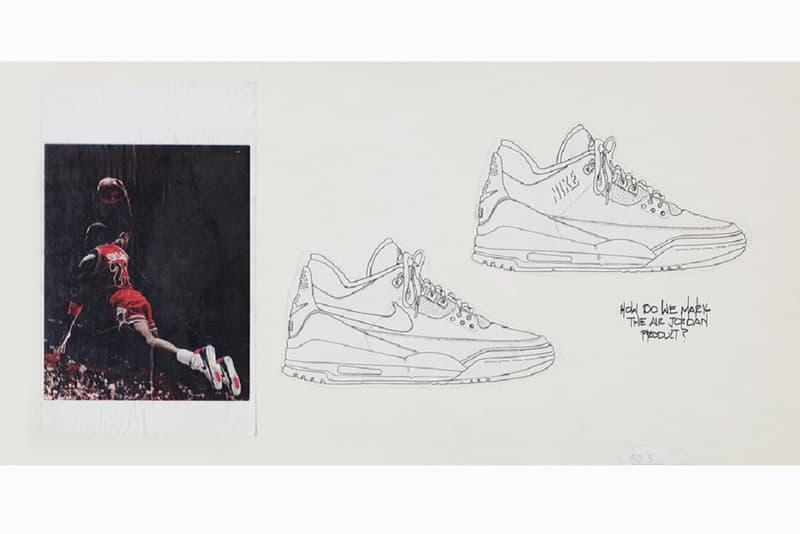 2942d665a6cf83 Nike Air Jordan 3 Prototype Tinker Hatfield Sketch