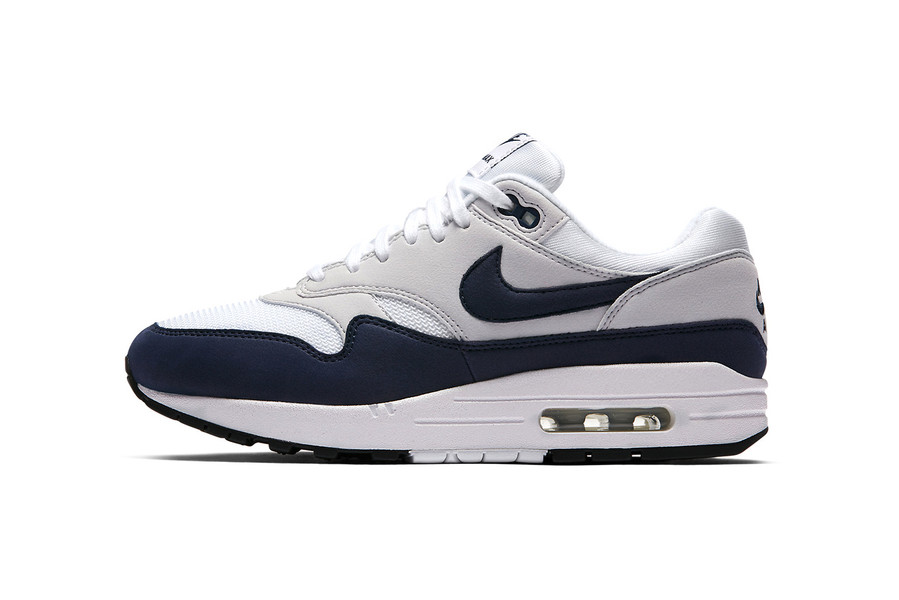 newest 4c33b 98782 Nike Air Max 1 to Drop Another White   Grey Obsidian Throwback