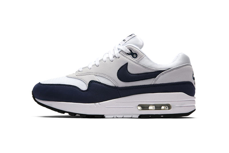 Nike Air Max 1 White Grey Obsidian 2018 January February Release Date Info Sneakers Shoes Footwear