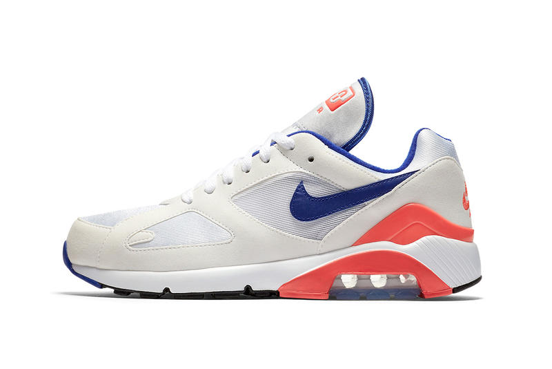 Nike Air Max 180 Ultramarine sneakers white blue orange purple red og original colorway solar am180
