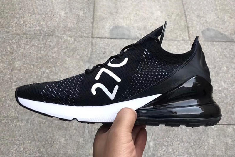Nike Air Max 270 Black Flyknit Teaser Spring 2018 Release