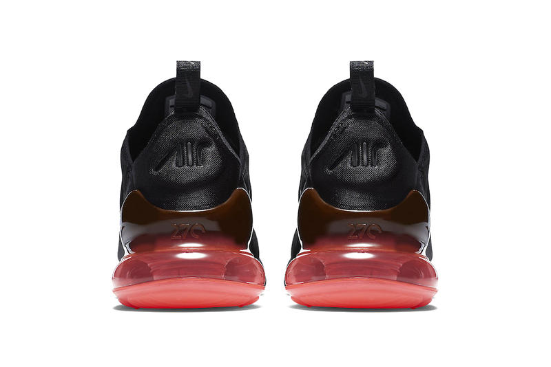 Nike Air Max 270 Hot Punch Official Look Black Red Release Date