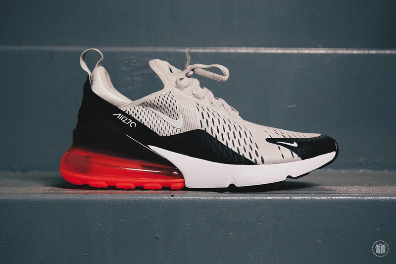 Nike Air Max 270 'Light Bone/Hot Punch'