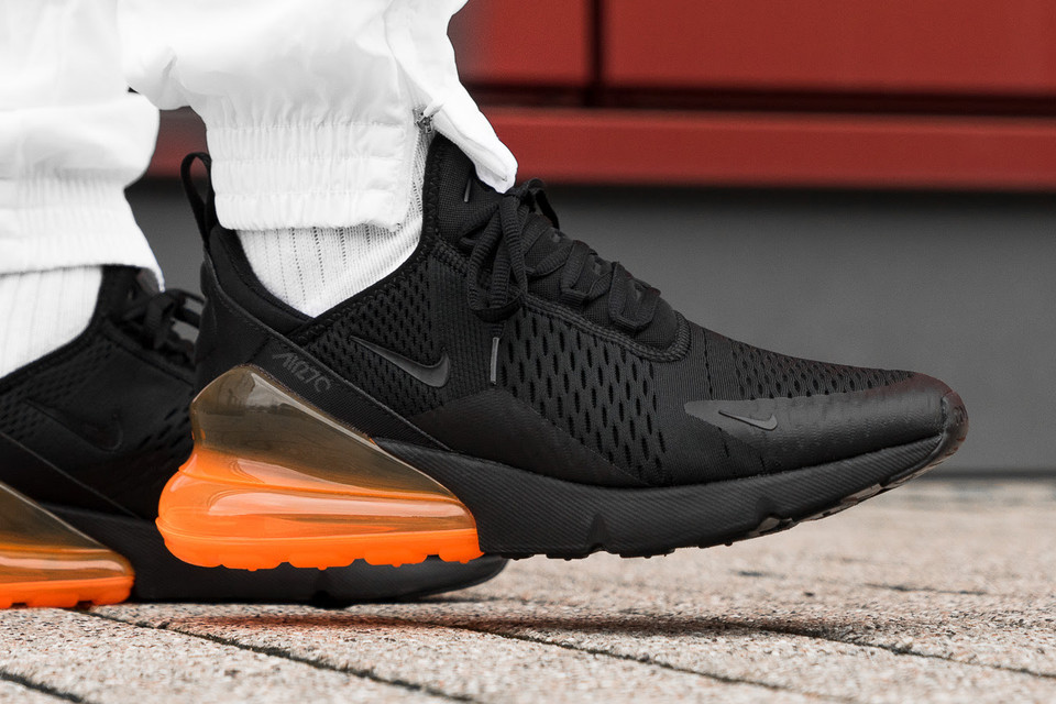 Nike Air Max 270 In Tonal Orange Hypebeast