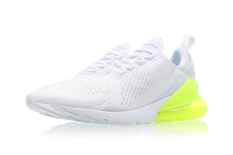 Nike Air Max 270 White Volt Green Release Date