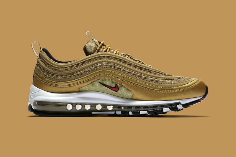 "Nike Air Max 97 ""Metallic Gold Italy"" release date info purchase"