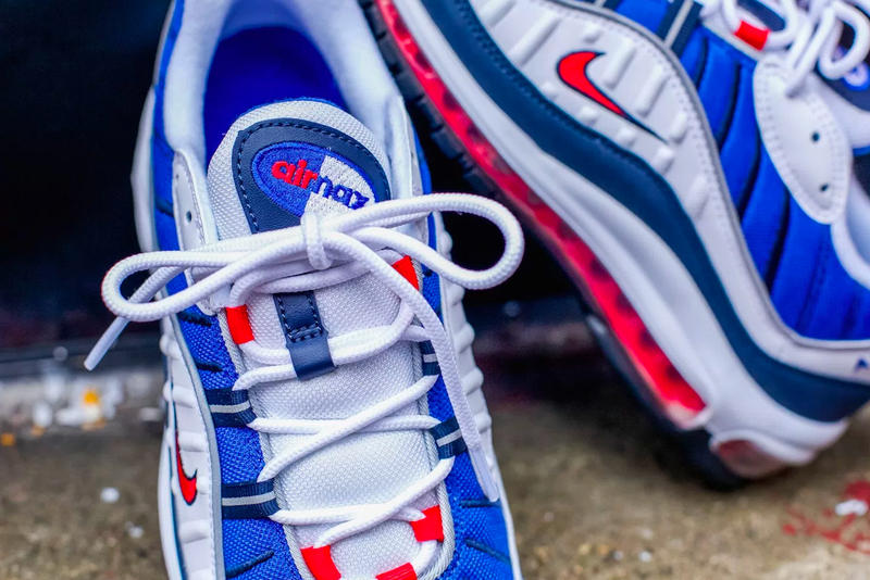 A Closer Look At The Nike Air Max 98 Gundam Hypebeast