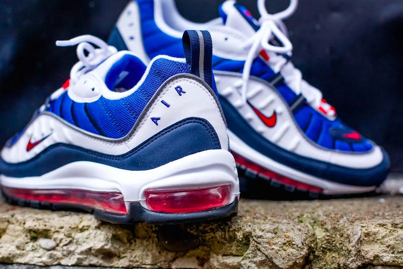 Nike Air Max 98 Gundam January 18 2018 Release Red White Blue