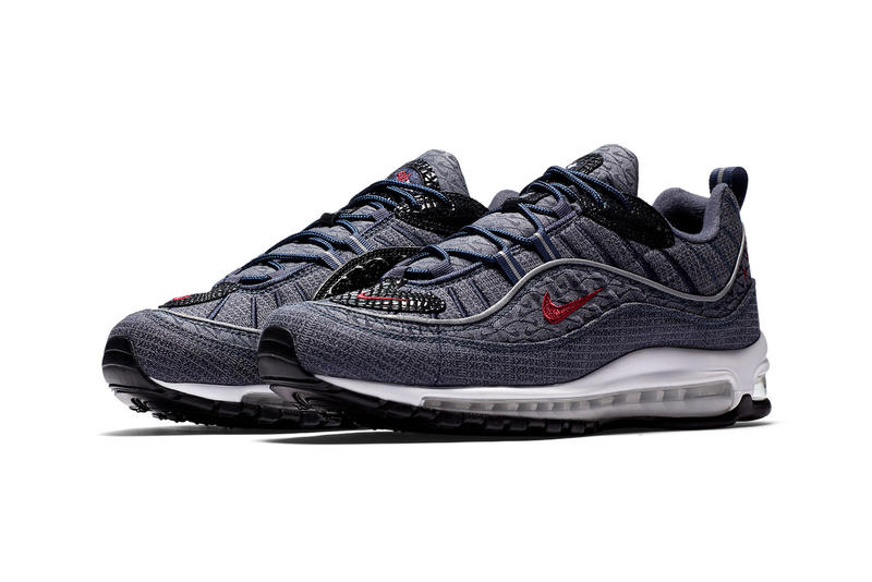 hot sale online 1a3b8 bd9d5 Nike Air Max 98 Thunder Blue Footwear Sneakers Shoes