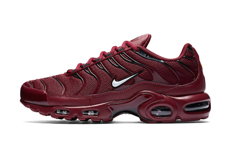 Nike Air Max Plus Team Red 20th Anniversary Release Info Drops Date January 2018 Sneakers Runners 3M