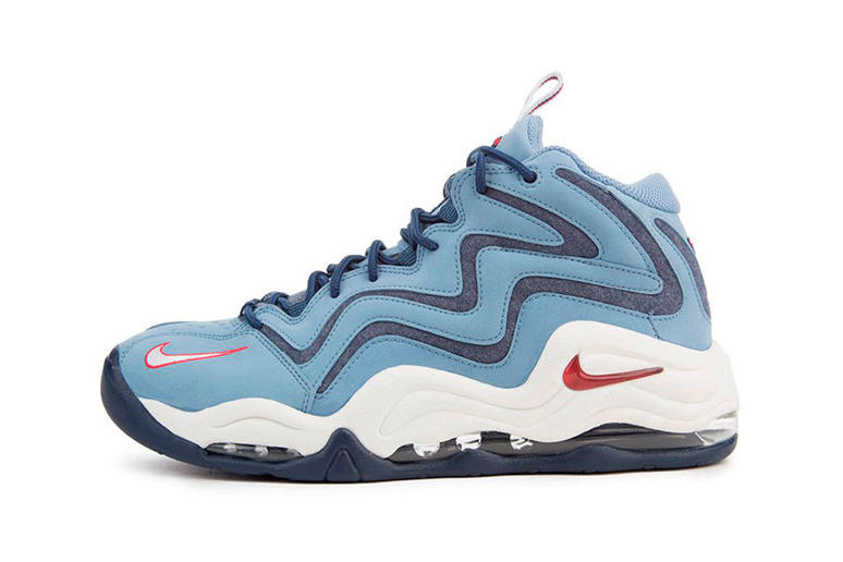 Nike Air Pippen 1 Work Blue white red Scottie Pippen footwear